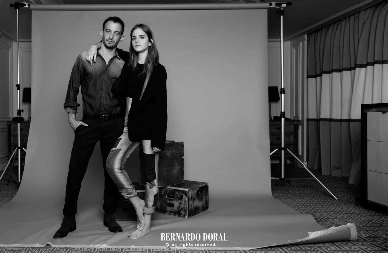 Emma Watson & Alejandro Amenábar | ELLE Spain